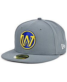 Golden State Warriors Storm Solid Team 59FIFTY Fitted Cap