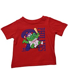 Toddlers Philadelphia Phillies  Mascot T-Shirt