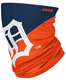 Detroit Tigers Colorblock Big Logo Gaiter Face Mask Scarf