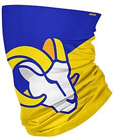 Los Angeles Rams Colorblock Big Logo Gaiter Scarf