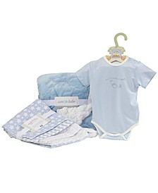 Baby Boys and Girls 6 Piece Welcome Gift Set