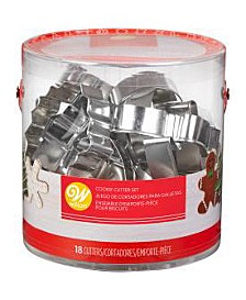 18-Pc. Holiday Cookie Cutter Set