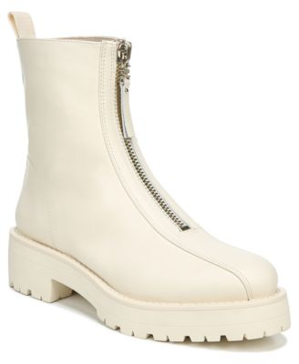 White Booties Sam Edelman Shoes for
