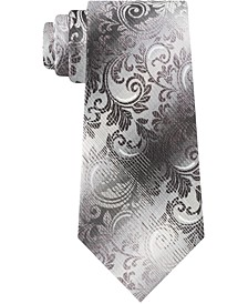 Men's Skinny Ombré Paisley Tie