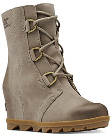 Women's Joan of Arctic Lug Sole Wedge Booties
