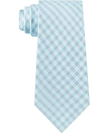 Men's Grid Dots Skinny Tie