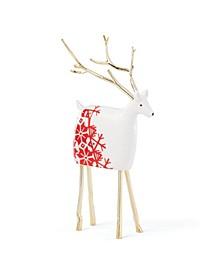 Festive Folk Small Reindeer Figurine