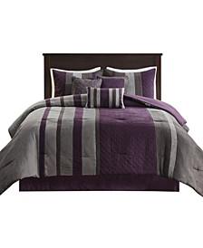 Kennedy 7 Piece California King Comforter Set