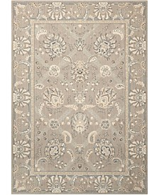"Persian Empire PE22 Slate 7'9"" x 10'10"" Area Rug"