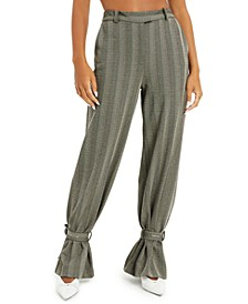 Herringbone Striped Pants, Created for Macy's