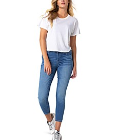 Cotton Ankle Skinny Jeans