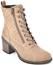 Dorsett Lace-Up Booties