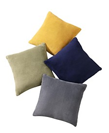 2 Pk. Velvet Plush Pillows