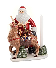 CLOSEOUT! Christmas Toys Memory Santa with deer