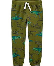 Toddler Boy Pull-On Fleece Pants