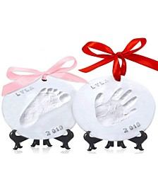 Baby Boys and Girls Handprint Keepsake Ornament
