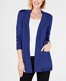Petite Open-Front Cardigan, Created for Macy's