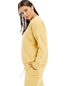 Plus Size French Terry Sweatshirt, Created for Macy's
