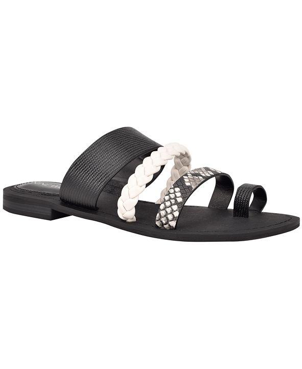 Nine West Hollah Flat Sandals