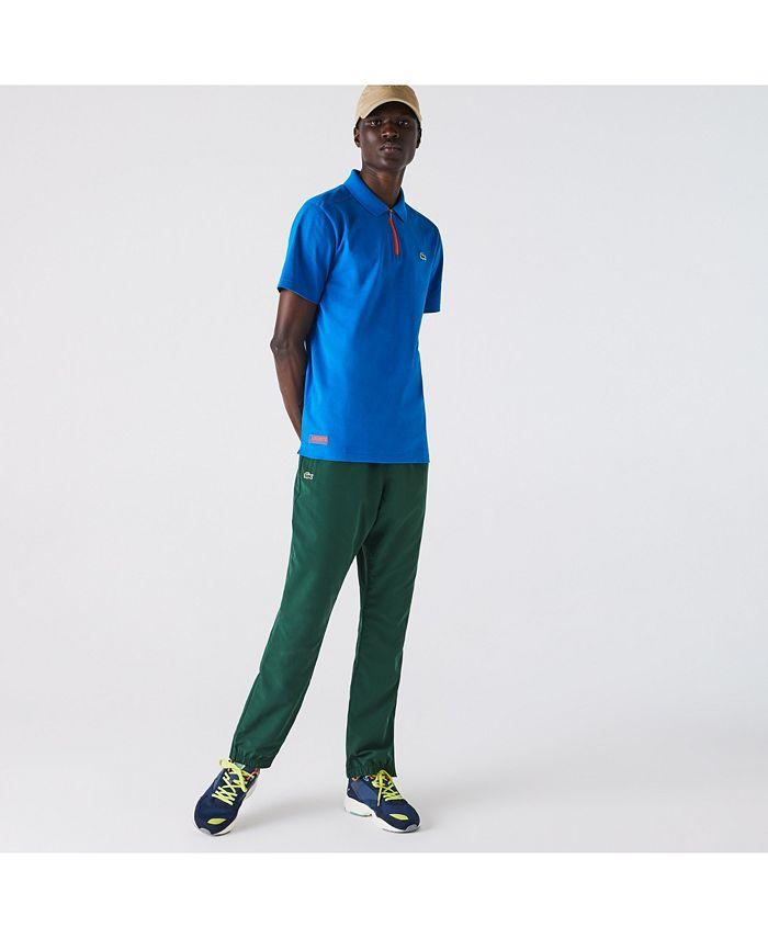 Lacoste - Men's SPORT 1/4-Zip Polo Shirt