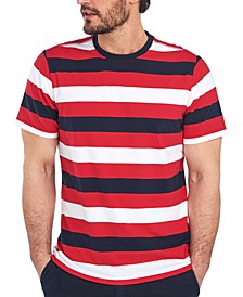 Men's Duridge Stripe Cotton T-Shirt