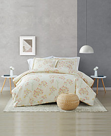 Brooklyn Loom Vivian 3 Piece Comforter Set, Full/Queen