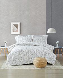 Brooklyn Loom Jasper 3 Piece Comforter Set, Full/Queen