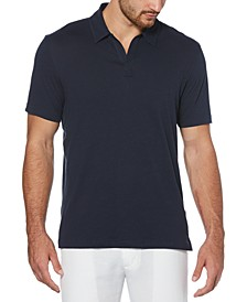 Men's No-Button Polo Shirt