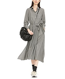 Refolo Wool Shirtdress
