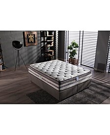 Anti-Aging Plush Eurotop Mattress- Full