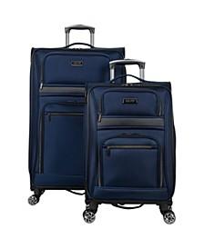 Rugged Roamer Softside 2-Pc Luggage Set