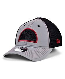 Denver Nuggets Gray Black Pop 39THIRTY Cap