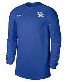 Nike Kentucky Wildcats Men's UV Coaches Long Sleeve Top