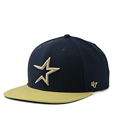 Houston Astros Coop Shot Snapback Cap