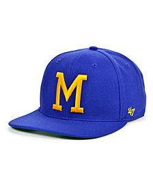 '47 Brand Milwaukee Brewers Coop Shot Snapback Cap