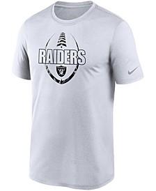 Las Vegas Raiders Men's Icon Essential T-Shirt