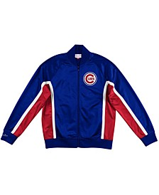 Men's Chicago Cubs Two-Tone Game Track Jacket