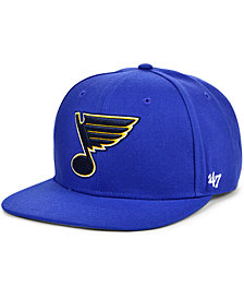 '47 Brand St. Louis Blues No Shot Snapback Cap