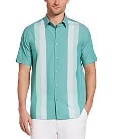 Men's Yarn-Dyed Panel Shirt