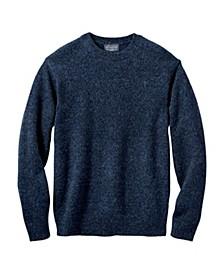 Mens Shetland Crew Sweater