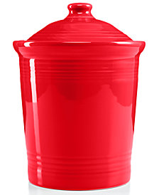 Fiesta Scarlet Large Canister