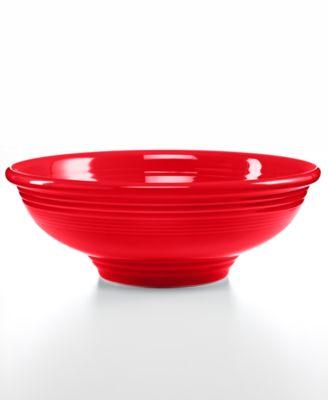 Scarlet Pedestal Bowl