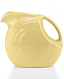 Fiesta Ivory 67.75-oz. Large Disk Pitcher