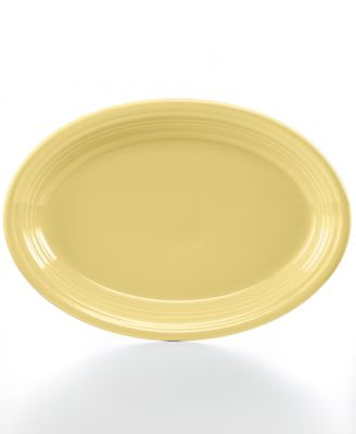 "Ivory 13"" Oval Platter"