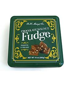 Chocolate Walnut Fudge Tin