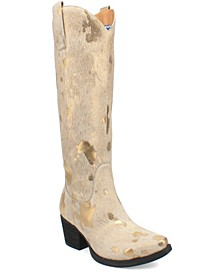 Women's Giddy Up Leather Boot