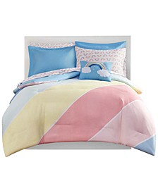 CLOSEOUT! Chloe 8-Pc. Full Comforter Set