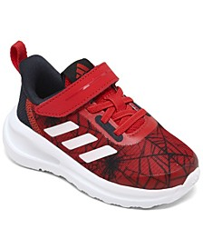 Toddler Boys FortaRun X Marvel Spider-Man Stay-Put Closure Running Sneakers from Finish Line