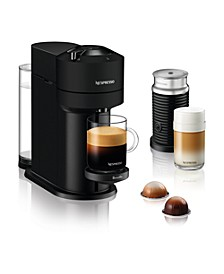 Vertuo Next Coffee and Espresso Maker by Breville, Limited Edition Matte Black with Aeroccino Milk Frother