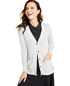 Cashmere Donegal Cardigan, Created for Macy's